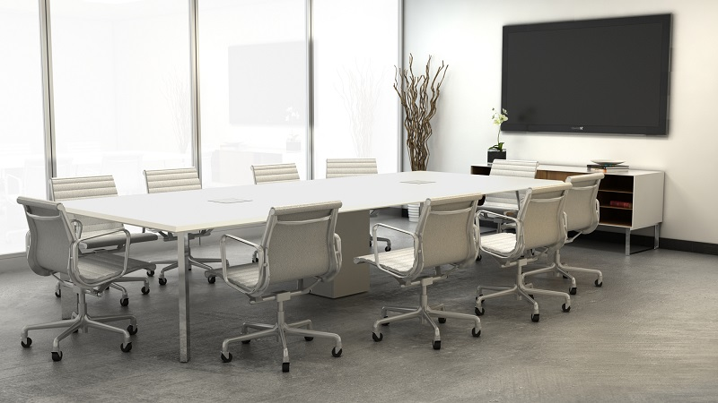 Heres All You Need To Know About A Conference Table Because - Gray conference table