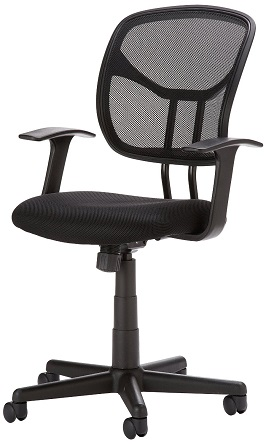 AmazonBasics Mid-Back Mesh Chair 3