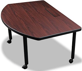 Balt Modular D-Shaped Radius Conference Table 2