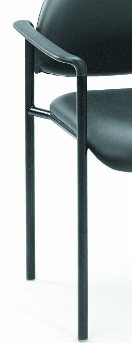 Boss Diamond Stacking Caressoft Chair Black 2