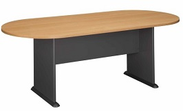 Bush Furniture Racetrack Conference Table