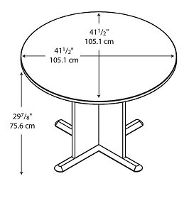 Bush - Round Conference Table 3