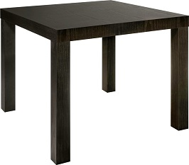 DHP Parsons Modern End Table Black Wood Grain 3