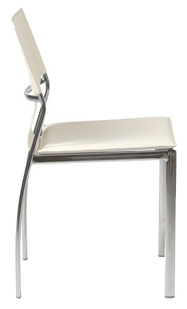 Euro Style 17212WHT Vinnie Side Chair 2