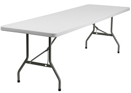 Flash Furniture Granite Plastic Folding Table