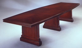 Keswick 12' Boat Shaped Conference Table