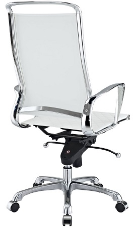 LexMod Vibe Modern Leather Highback Office Chair 3