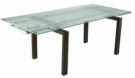 Charmant Modern Wenge U0026 Frosted Glass Executive Desk 3