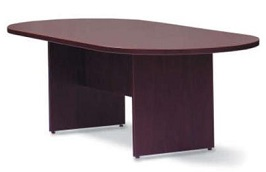Make Your Discussion Podium Stylish And Affordable With - Oval conference table for 6