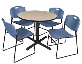 Regency Cain 36-Inch Round Breakroom Table