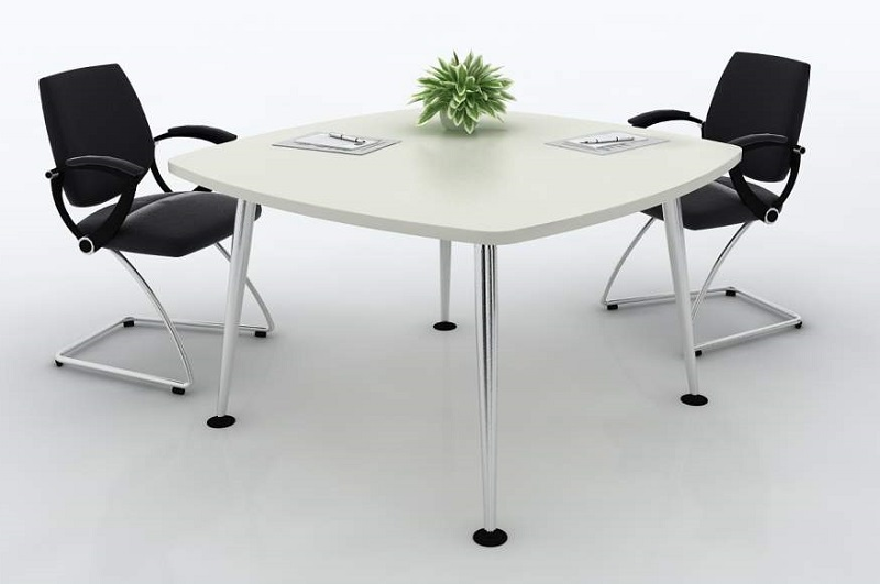 Small Conference Table Because Office Also Need To Be Designed - Small round meeting table and chairs