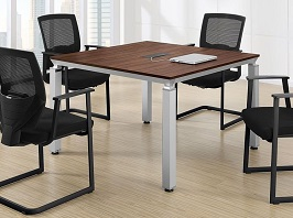 Square Modern Conference Room Table 2