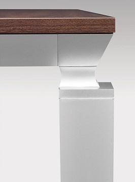 Square Modern Conference Room Table 3