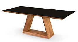 Uber Modern 79 Walnut Executive Desk 3