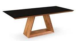 Uber Modern 79 Walnut Executive Desk