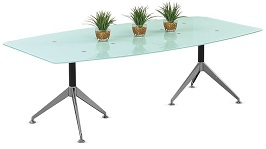 View BoatShaped Conference Table