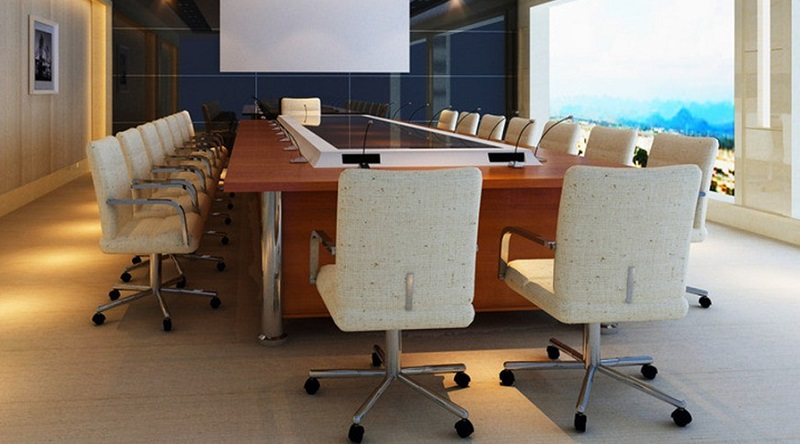 Superb White Conference Room Chairs