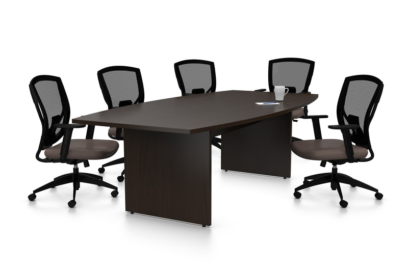 Discuss In Big Class And Elegance With Black Conference Table - Large white conference table