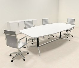 Modern Boat Shaped 8 Feet Conference Table MT-COH-C31
