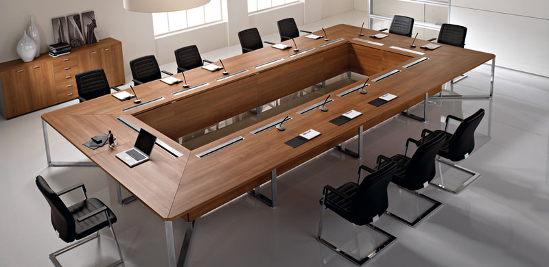 Why Do We Need A Modern Conference Table Because Office Also Need To Be De