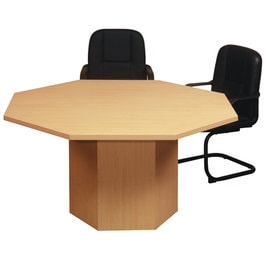 Octagonal conference room table