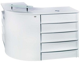 BEAUTY L-SHAPED SALON RECEPTION DESK 3