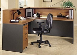 Bush Furniture Auburn Maple Corsa