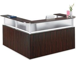 Officient Neoterik L-shaped Reception Desk