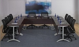 QSP U Shape Modular Training Conference Table 2