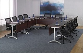 QSP U Shape Modular Training Conference Table