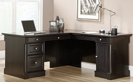 Sauder Avenue Eight L-Shaped Desk
