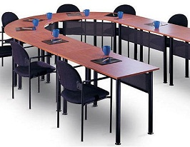 U Shaped Conference Room Table