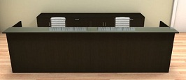2pc-12-feet-modern-glass-counter-reception-desk