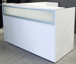 Beutifull white reception desk