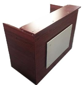 DFS Reception desk shell which fits a 15