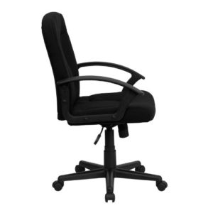 flash furniture mid-back office chair side
