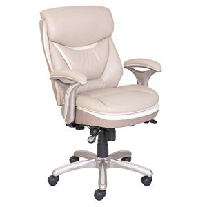 Serta executive office chair microfiber