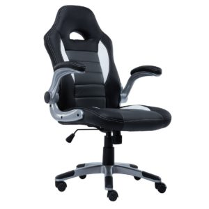 Giantex Pu Leather Executive Racing Style Bucket Seat Chair Sporty front