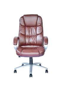 High Back Executive Leather Ergonomic Office Chair front