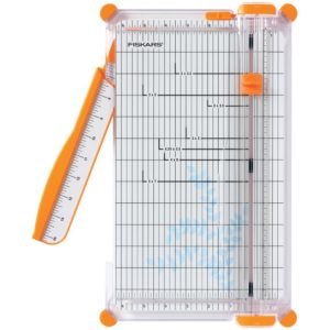 Fiskars 12 Inch SureCut Deluxe Craft Paper Trimmer