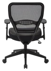 SPACE Seating Professional AirGrid Dark Back - side