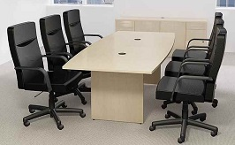 10 Boat Shaped Conference Table 3