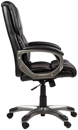 AmazonBasics High-Back Executive Chair - Black 2