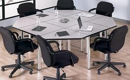 BUSH BUSINESS FURNITURE Aspen Rectangle Table 3