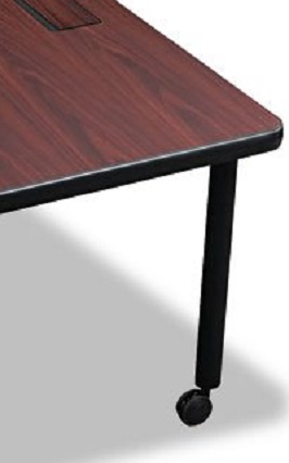 Balt Modular D-Shaped Radius Conference Table