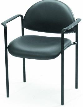 Boss Diamond Stacking Caressoft Chair Black 3