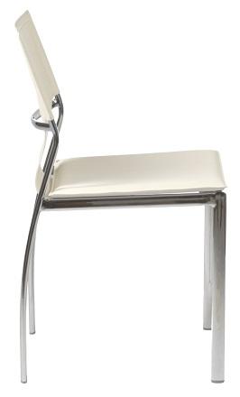 Euro Style 17212WHT Vinnie Side Chair 2