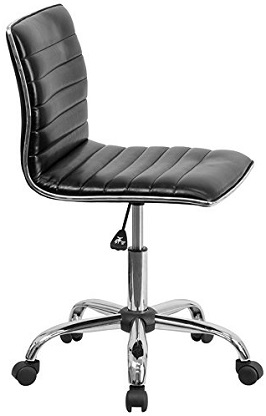 Flash Furniture Mid-Back Armless 2