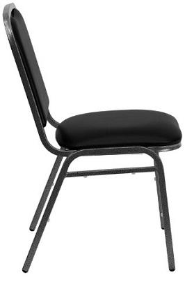 Flash Furniture NG-108-SV-BK-VYL-GG Hercules Series 2