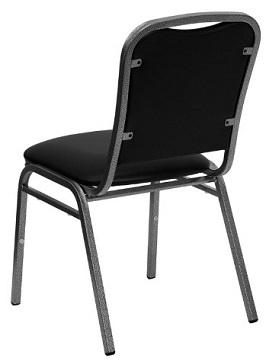 Flash Furniture NG-108-SV-BK-VYL-GG Hercules Series 3